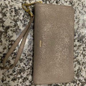 Glittery Fossil Wallet